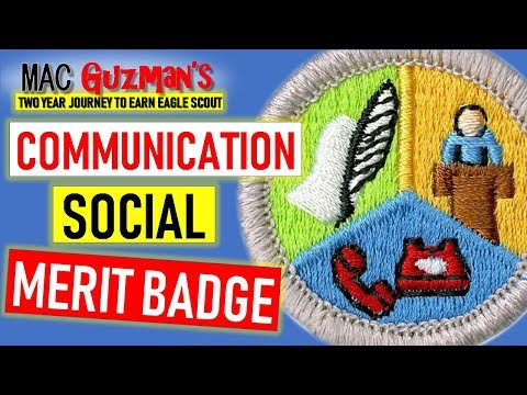 How To Be Socially Confident - Get Communications Merit Badge And Public Speaking Skills