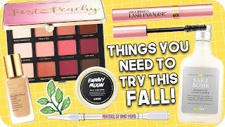 Things you NEED to try this Fall! Fall Essentials!