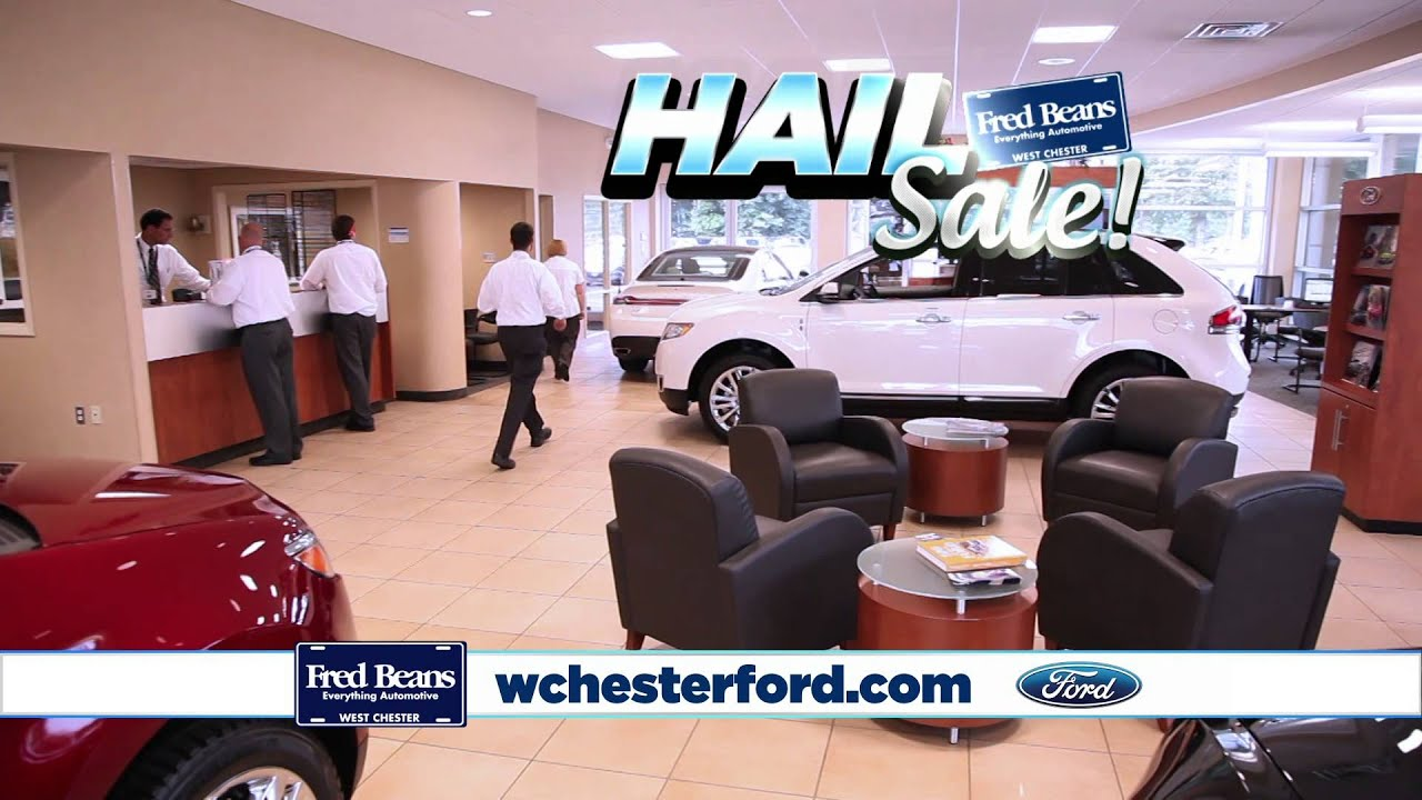 hail sale fred beans ford west chester pa ford dealer. Black Bedroom Furniture Sets. Home Design Ideas