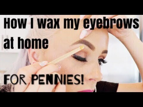 how to make your own eyebrow wax