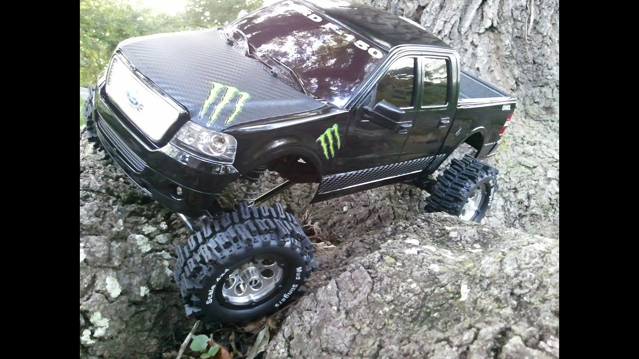 Build Ford F150 Axial SCX10 Monster Edition Ford F150 4x4 Scale rc ...