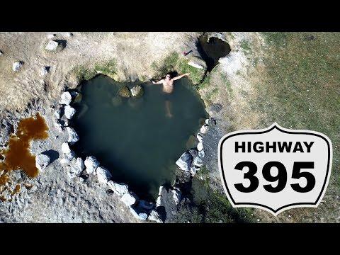 Free Hot Springs ~ Highway 395 RV Road Trip