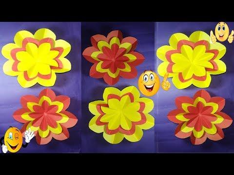 MT DIY Craft : Easy Paper Flower || Amaging DIY Craft || How to Make Paper Origami !