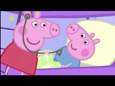Английский по Мультику Свинка Пеппа, Сезон 1 Серия 3, Ставьте Дедям и Процесс Пошёл