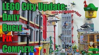 LEGO Daily Bugle Fix Complete - Ultra Villains 76178 📰🏢🏹