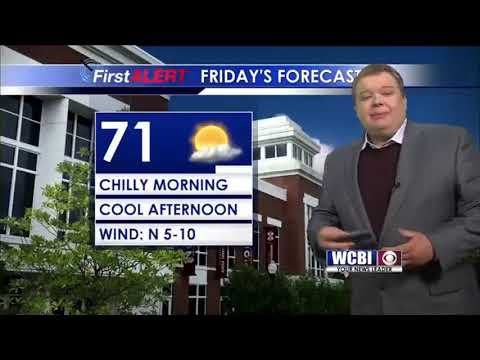 Friday Morning Weather Update w/ Meteorologist Alex Puckett