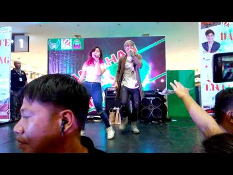 Paul Salas and Ella Cruz (Mallshow @Robinsons Place, Tagum City)