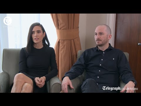 with Darren Aronofsky and Jennifer Connelly