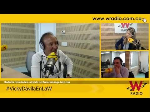 #VickyDávilaEnLaW entrevista a Rodolfo Hernández, alcalde de Bucaramanga