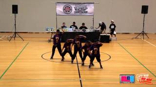 LITTLE MISS  | AUSTRALIAN HIP HOP DANCE CHAMPIONSHIP HHI 2013 | SYDNEY QUALIFIER (1280 x 720)