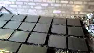 Изготовление тротуарной плитки дома.zavisitottebya точка ru.(изготовление тротуарной плитки в домашних условиях, уточнение и изменения на моем сайте http://zavisitottebya.ru., 2013-05-14T16:40:04.000Z)