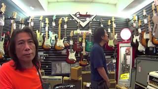 Me & Kazuo Takeda visit Tom Lee/26 9 2014