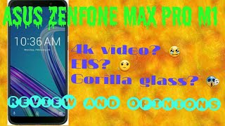 ASUS ZENFONE MAX PRO M1 REVIEW AND MY OPINIONS |SHOULD U BUY?  😱