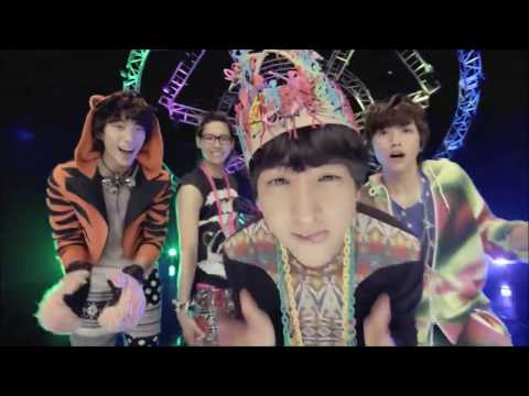 B1A4 Beautiful Target MV but everytime they say i like it/beautiful target it gets faster