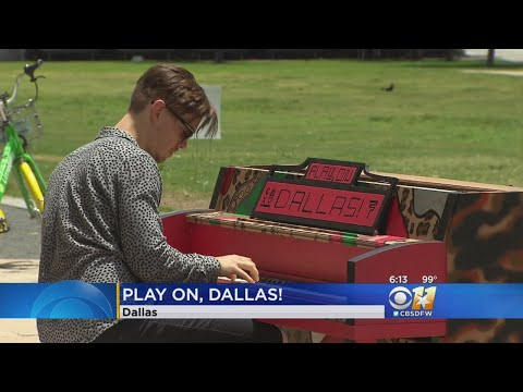 'Play On, Dallas!': New Art Project Looks To Bring Community Together Through Music