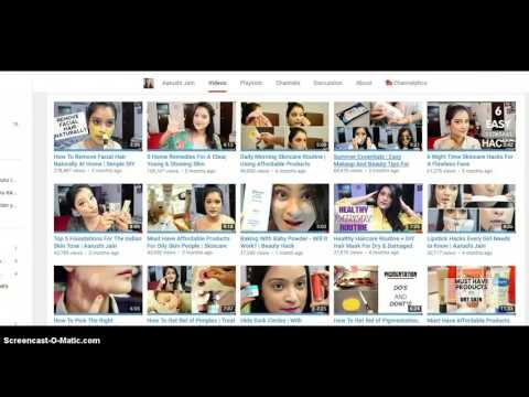 how much does indian beauty lifestyle blogger aarushi jain make on youtube 2016