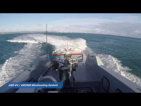 AQS-24 ARCIMS Minehunting System