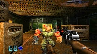Quake II Game Review (PS1) (1999) (HD Gameplay)