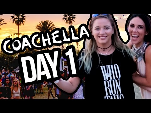 OUR FIRST COACHELLA DAY 1 (Lunchy Break)