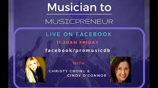 ProMusicDB Musician to Musicprenuer FB Live Class July 8, 2016