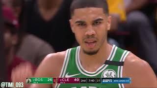 Jayson Tatum R3G3 Highlights vs Cleveland Cavaliers (18 pts)