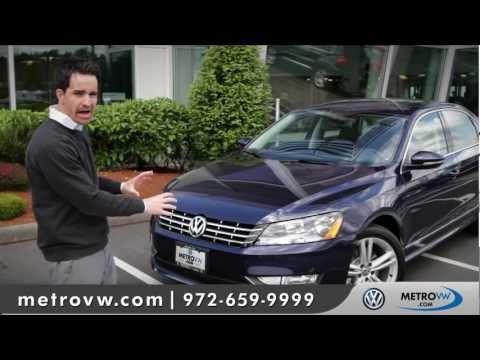 2012 Volkswagen Passat Walk-around | Metro VW - Dallas Volkswagen dealer