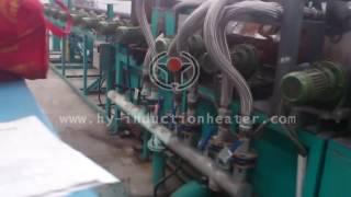 Auto control steel bar heat treatment line