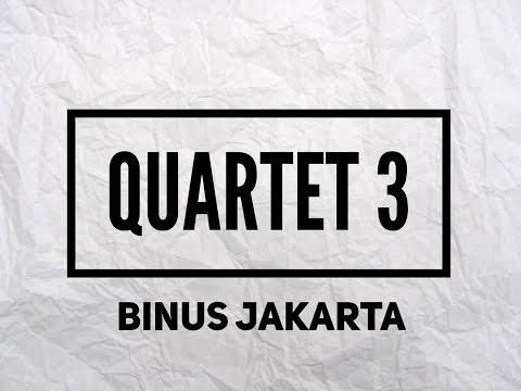 Quartet 3 - Bina Nusantara University Jakarta