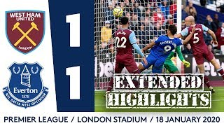 ANTHONY GORDON MAKES PL DEBUT IN BATTLING DRAW: EXTENDED HIGHLIGHTS: WEST HAM 1-1 EVERTON