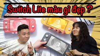 Nên mua Nintendo Switch Lite màu gì đẹp nhất? nShop - Games & Hobbies
