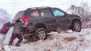 Фото с обложки Битва Стоковых [Toyota Prado Vs Нива Vs Уаз Vs Suzuki Grand Vitara Vs Jeep Grand Cherokee] Off-Road