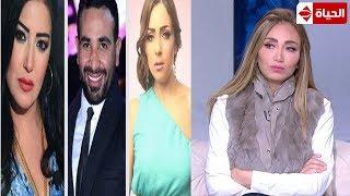 """بالفيديو- ريهام سعيد لسمية الخشاب بعد طلاقها من أحمد سعد: """"كما تدين تدان"""""""