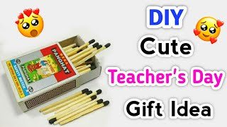 DIY Cute Teacher's Day Gift Idea Easy / Teacher's Day Handmade Gift Ideas / Teachers Day Gift Making