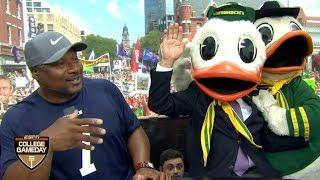 Lee Corso's headgear pick with Bo Jackson: Oregon Ducks vs. Auburn Tigers | College GameDay