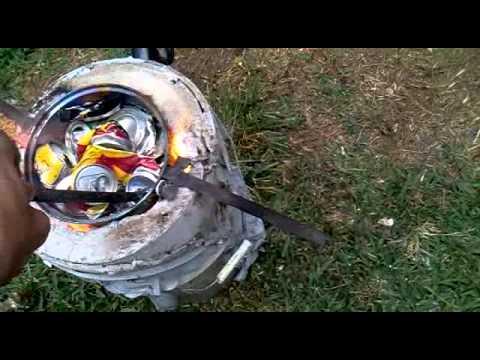 Como fundir aluminio youtube for Celosias de aluminio para jardin