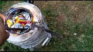 como fundir Aluminio