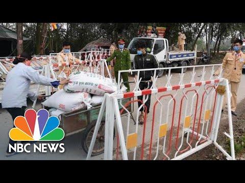 10,000 People Inside One Vietnamese Commune Quarantined Over Coronavirus Fears | NBC News