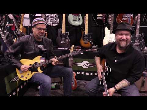 What's New at Reverend Guitars  •  NAMM 2017