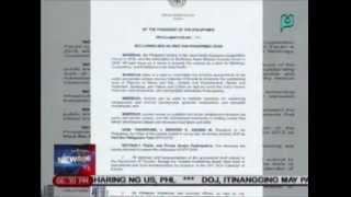 PNoy, nilagdaan ang Proclamation 991 na nagdedeklara sa 2015 bilang