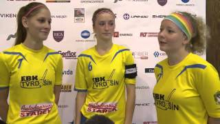 EFC 2014 Interview Tvrdozin after 5th place match