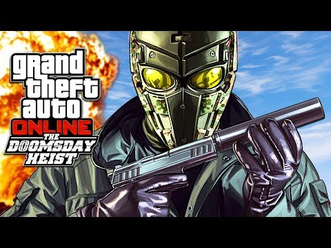 GTA 5 DLC - THE DOOMSDAY HEIST *SAVING THE WORLD* // ACT 2, PART 1!! (GTA 5 Online Heists)