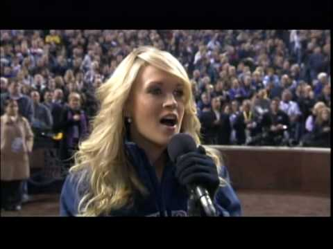 Carrie Underwood : National Anthem Game 3 World Series 2007