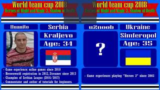 #52-2. Heroes 3. SoD. World Team Cup 2018! =Huanito (Serbia) vs u2noob (Ukraine). 6lm10a