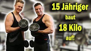 So hat Alex 18 Kilo aufgebaut! | Training und Ernährung