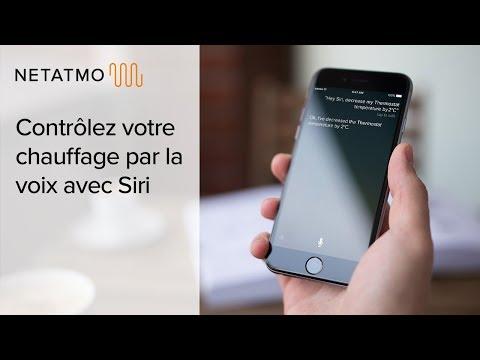 Contrôlez votre chauffage par la voix avec Siri - Thermostat et Vannes Netatmo