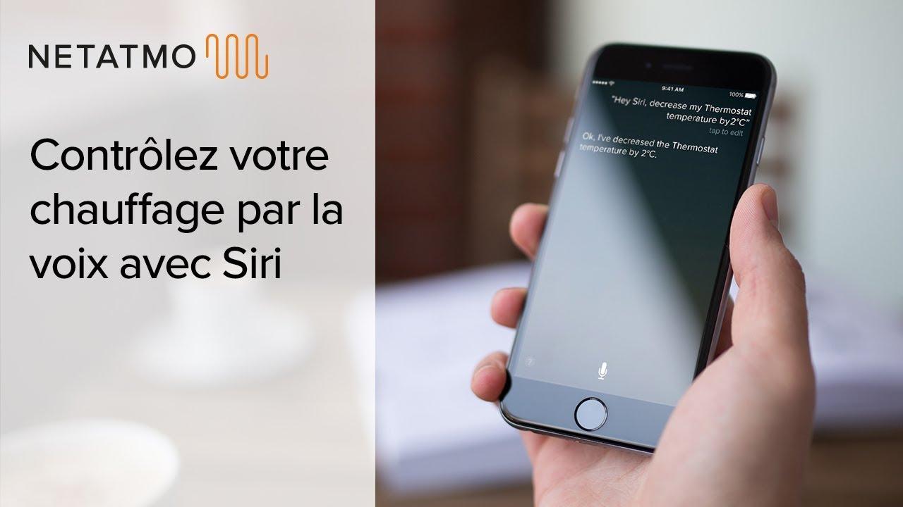 Netatmo Apple Homekit Siri