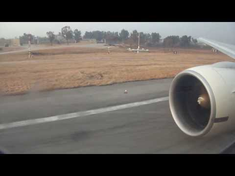777 Early Morning landing at Islamabad Airport HD