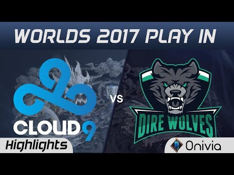 C9 vs DW Highlights World Championship 2017 Play In Cloud9 vs Dire Wolves by Onivia