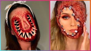 Halloween Makeup Artist Who Are At Another Level ▶ 8