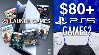 PS5's Launch Lineup Confirmed. | Sony Considered $80 (or more?) For PS5 Games. - [LTPS #439]